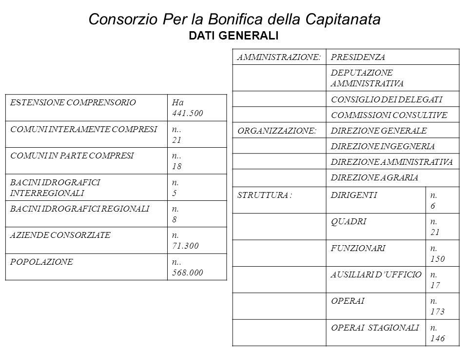 ESTENSIONE COMPRENSORIOHa 441.500 COMUNI INTERAMENTE COMPRESIn..