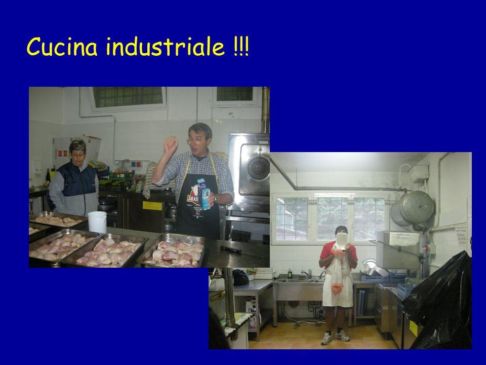 Cucina industriale !!!