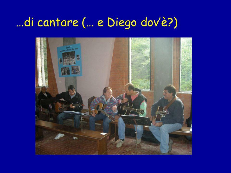 …di cantare (… e Diego dovè )