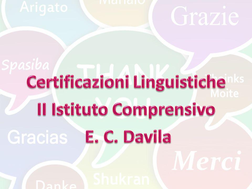 Perché le certificazioni linguistiche .