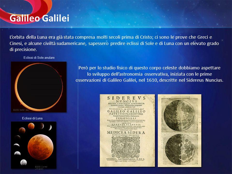 Lorbita della Luna era già stata compresa molti secoli prima di Cristo; ci sono le prove che Greci e Cinesi, e alcune civiltà sudamericane, sapessero