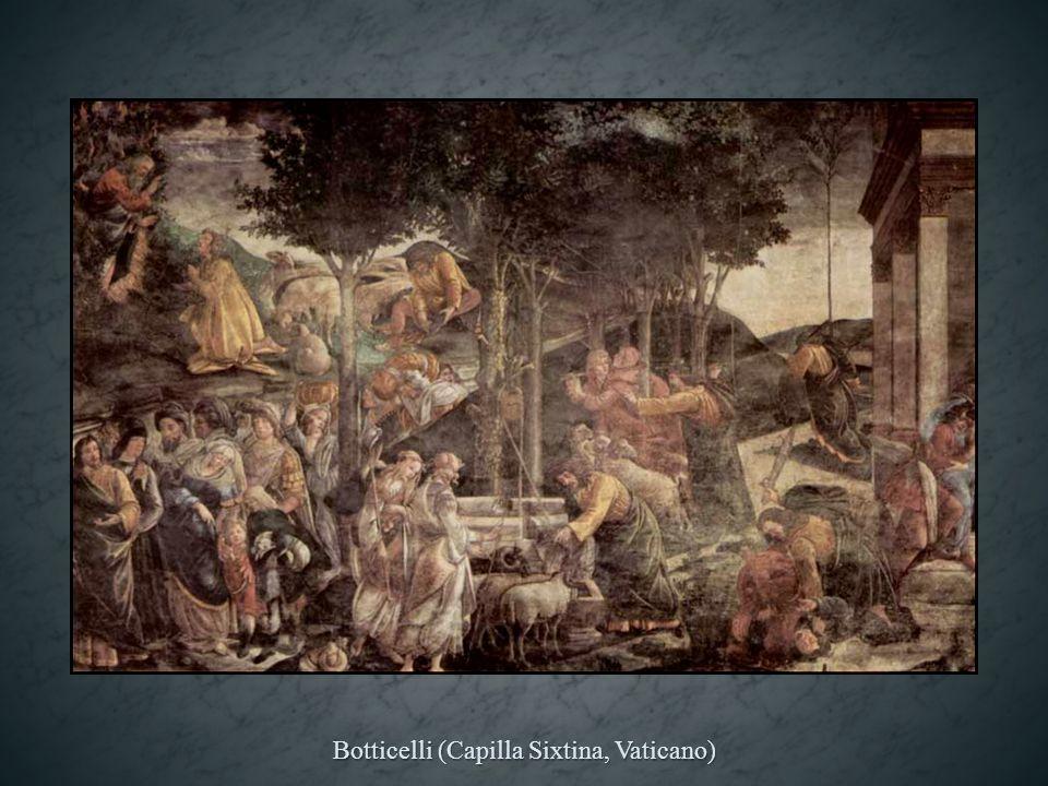 Pietro Perugino (Capilla Sixtina, Vaticano)