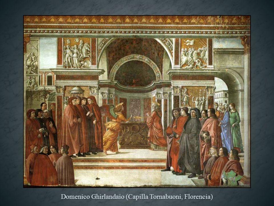 Domenico Ghirlandaio (Capilla Tornabuoni, Florencia)