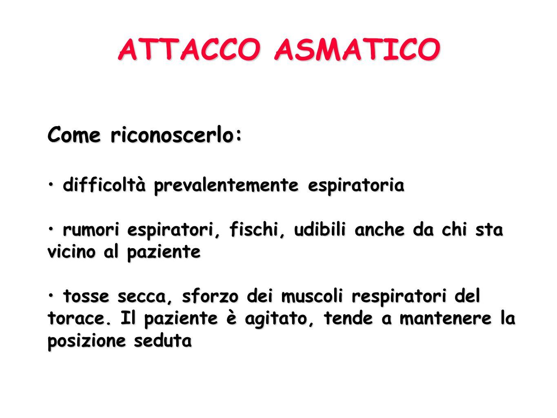101 Asma Disturbo respiratorio causato da una aumentata responsività dellalbero tracheo-bronchiale a vari stimoli