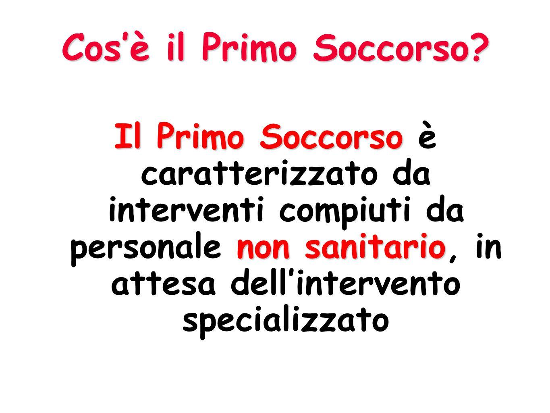 REQUISITI E FORMAZIONE DEGLI ADDETTI AL PRONTO SOCCORSO (art.