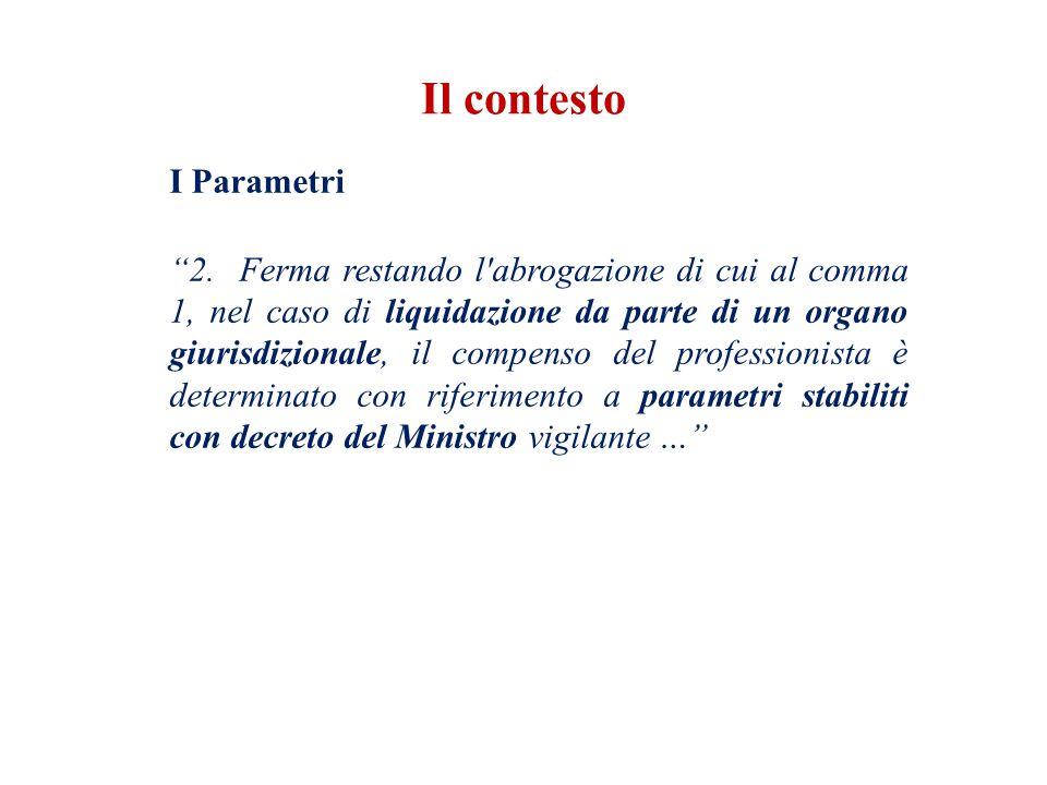 I Parametri 2.