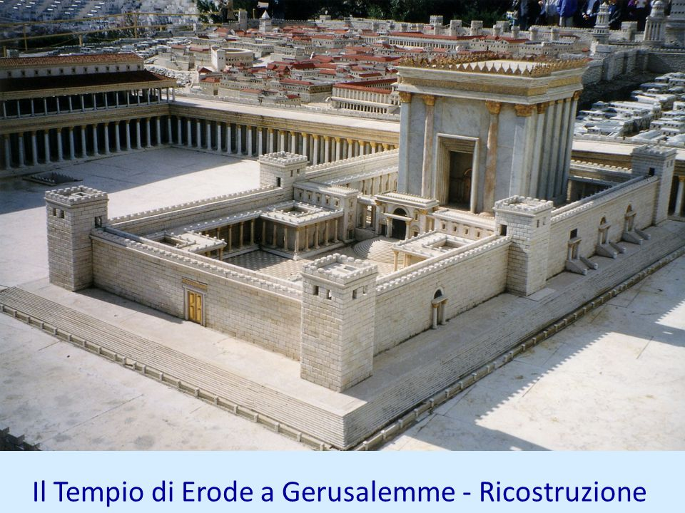 Il Tempio di Erode a Gerusalemme - Ricostruzione