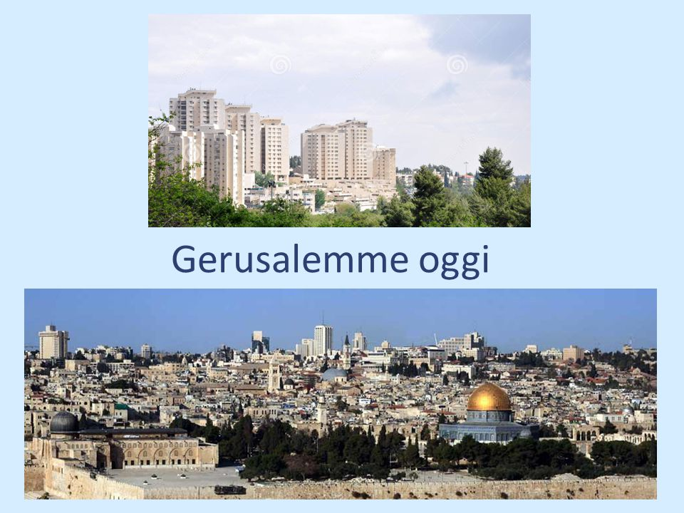 Parte della Gerusalemme del tempo di Yeshùa, del primo secolo della nostra èra, ormai non è più visibile: è sepolta sotto la città moderna, sotto le sue strade e i suoi edifici.