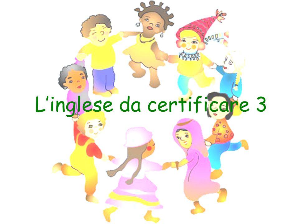 Linglese da certificare 3