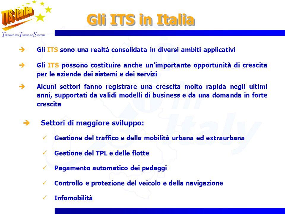 Gli ITS in Italia Gli ITS sono una realtà consolidata in diversi ambiti applicativi Gli ITS possono costituire anche unimportante opportunità di cresc