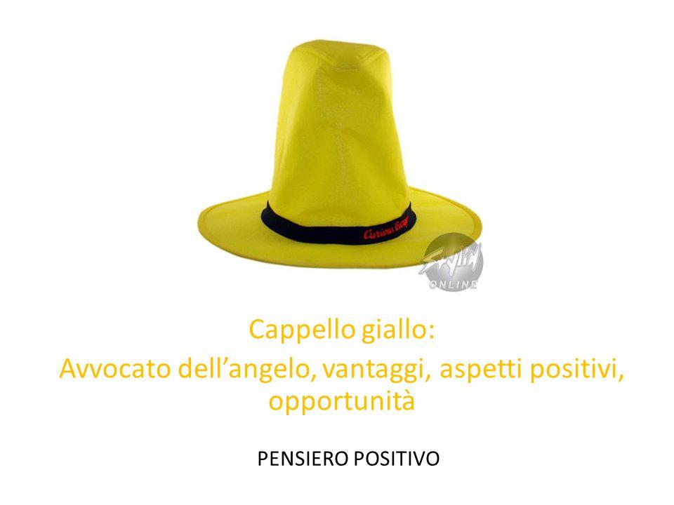 Cappello giallo: Avvocato dellangelo, vantaggi, aspetti positivi, opportunità PENSIERO POSITIVO