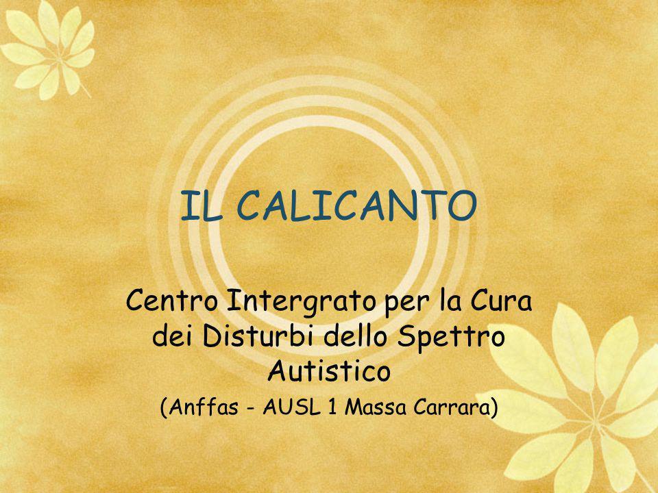 IL CALICANTO Centro Intergrato per la Cura dei Disturbi dello Spettro Autistico (Anffas - AUSL 1 Massa Carrara)