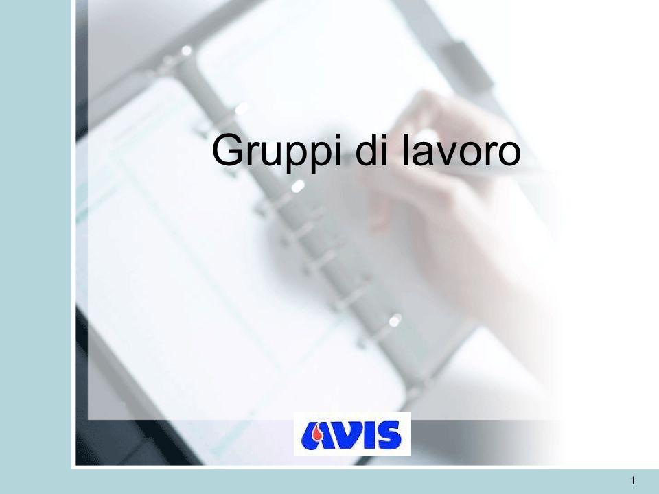 Gruppi di lavoro 1