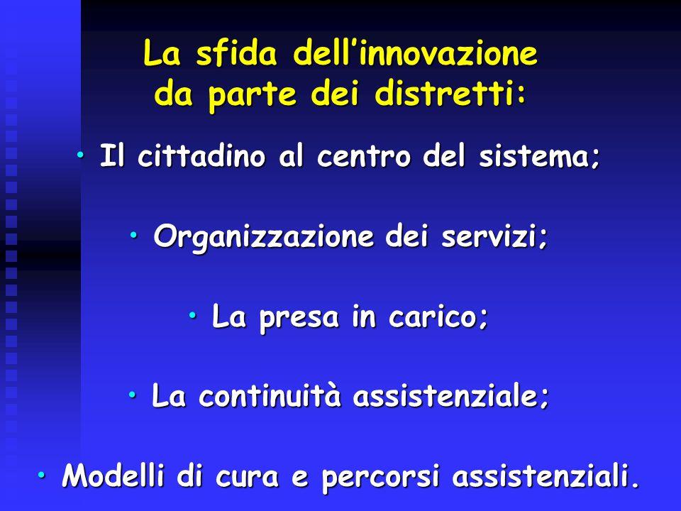 Individuazione del bisogno;Individuazione del bisogno; Risposta adeguata del bisogno;Risposta adeguata del bisogno; Valutazione periodica esiti di salute (es.