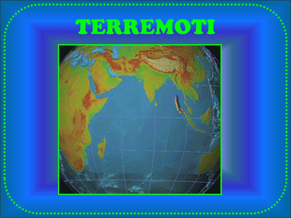 SCALA MERCALLI Giuseppe Mercalli (1897) Esprime lintensità di un sisma (danni provocati a persone e cose) cioè quando avveniva un terremoto si faceva una stima dei danni e in base a questi si assegnava al terremoto un determinato valore che va da 1 (nessun danno, solo gli strumenti lo avvertono) a 10 (distruzione totale).