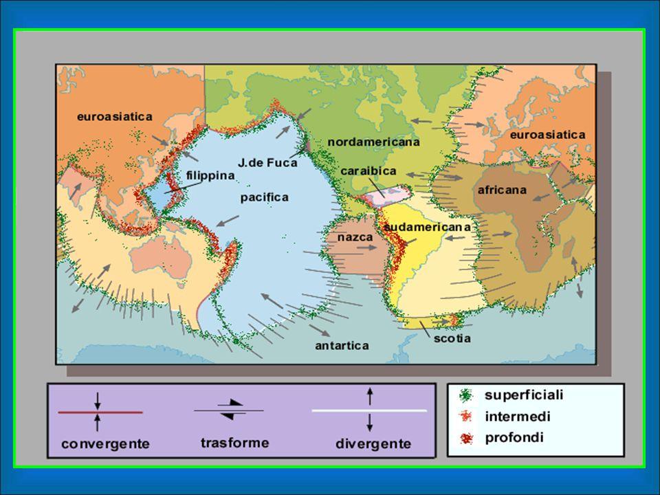 Zone a maggior rischio sismico -Perù -Giappone -California …e in generale la placca euro-asiatica… (le zone colorate nella cartina a fianco sono i margini delle placca euro-asiatica e della placca indiana, che costituiscono il cosiddetto anello di Fuoco.) Per rischio sismico si intende la probabilità che in una data area e in un certo periodo di tempo si possa verificare un fenomeno sismico.