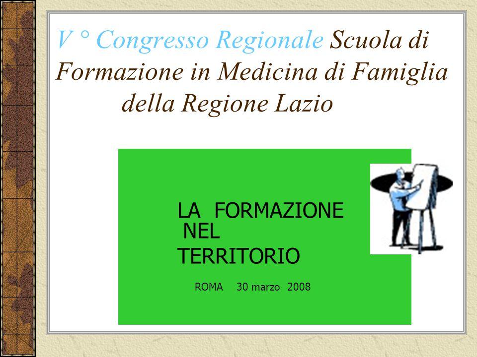 Dalla Teoria alla Realtà ASL VT: Risultati di indagine conoscitiva sui bisogni di formazione nel territorio popolazione 305.091 medici di medicina generale n.