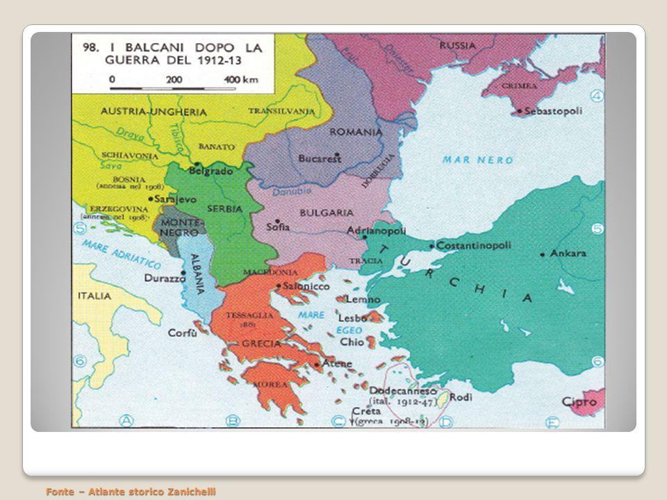 Dissoluzione dellImpero Ottomano