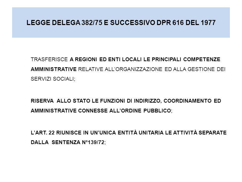 Capo III - Beneficenza pubblica Art.22 Beneficenza pubblica.