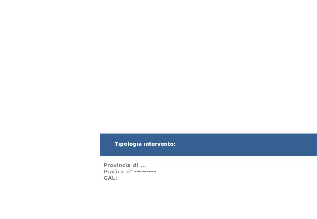 Programma di Sviluppo Rurale (PSR) 2007/2013 della Regione Sardegna Proprietà: …..