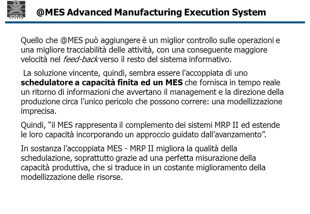 Quello che @MES può aggiungere è un miglior controllo sulle operazioni e una migliore tracciabilità delle attività, con una conseguente maggiore velocità nel feed-back verso il resto del sistema informativo.