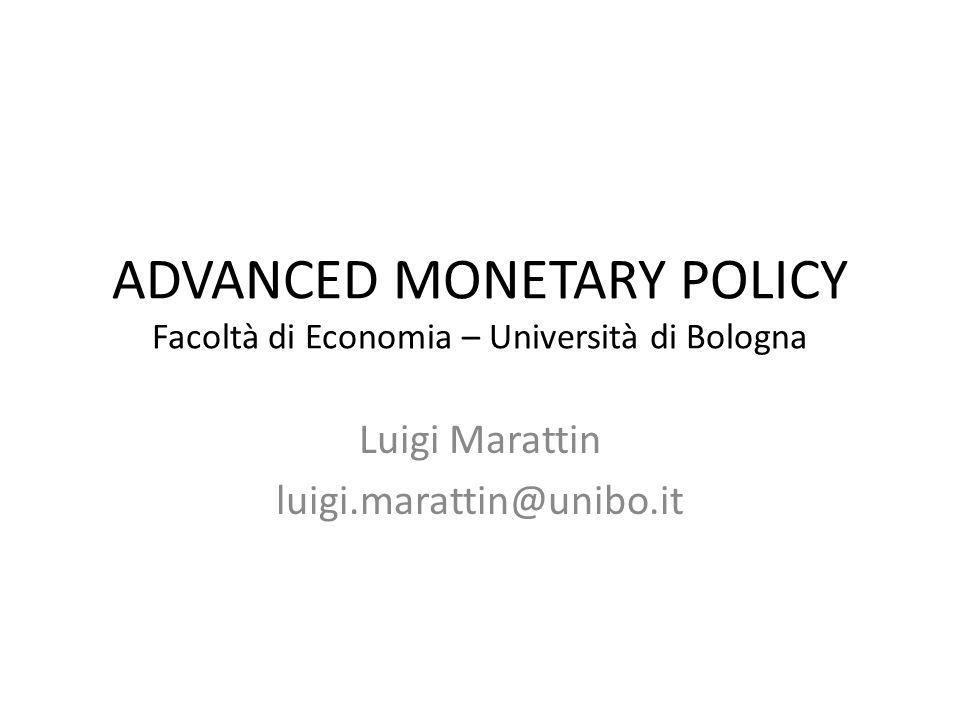 IL DOCENTE Posizione: Ricercatore di Economia Politica – Dipartimento di Scienze Economiche Interessi di ricerca: Politica fiscale e monetaria, crescita economica.