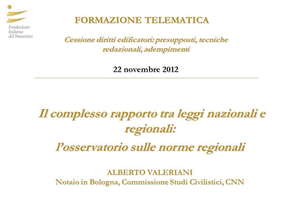 INCENTIVAZIONE Si ricordano inoltre: -L.r.Calabria 16 aprile 2002, n.