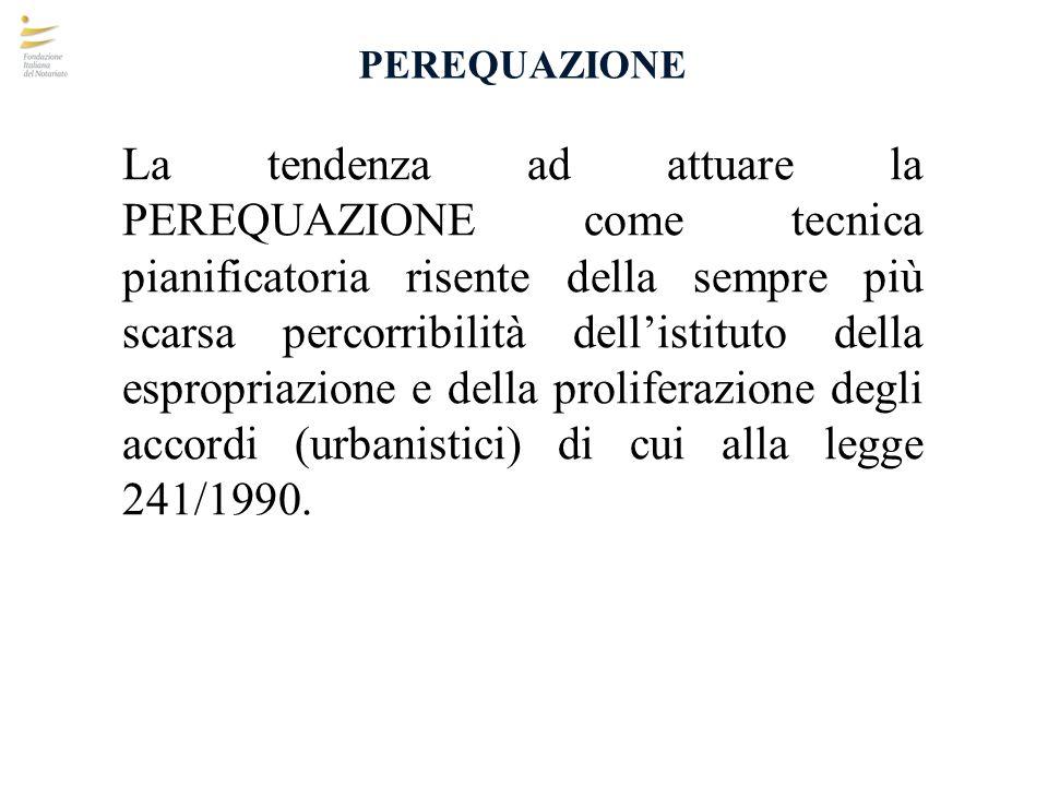 COMPENSAZIONE Gli artt.36 e 37 della L.r. Veneto n.