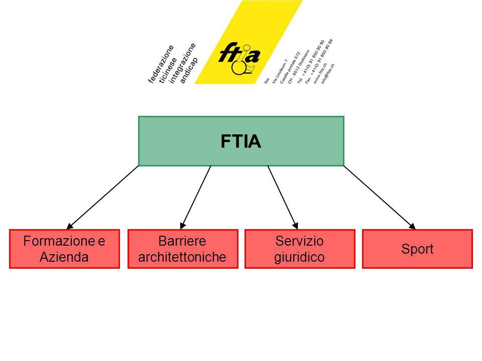 FTIA Barriere architettoniche Sport Formazione e Azienda Servizio giuridico