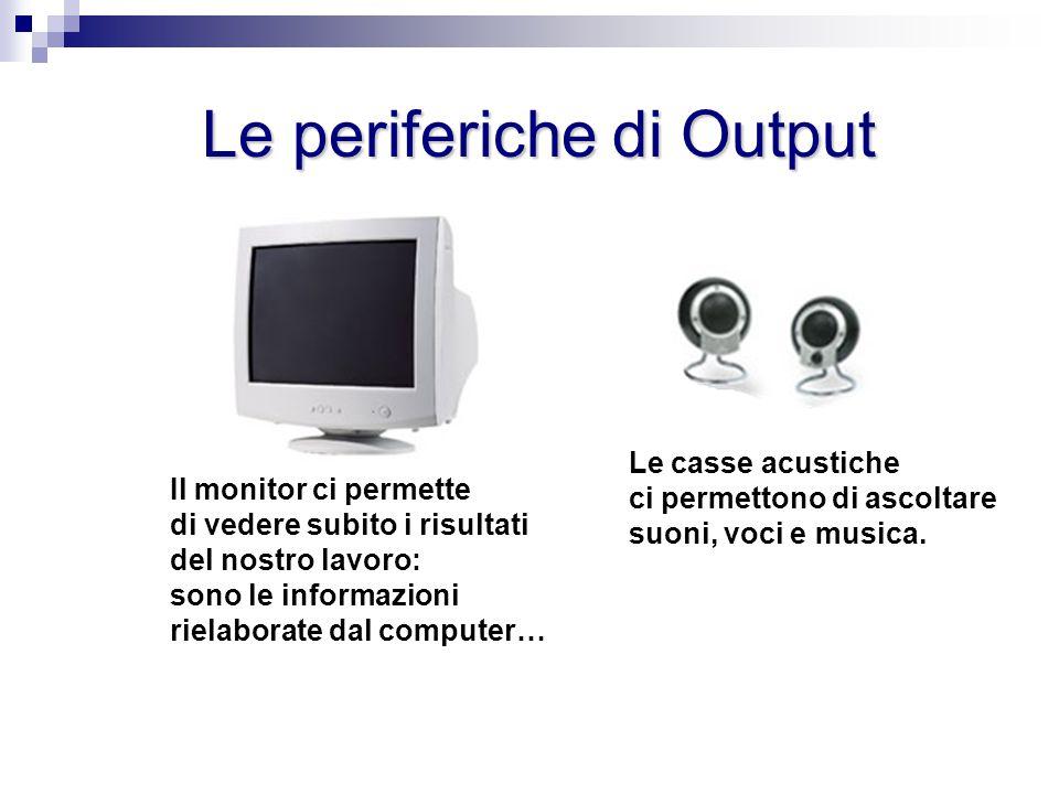 Il ciclo Input - Output Il ciclo Input - Output Con lo Scanner inviamo un disegno al computer.