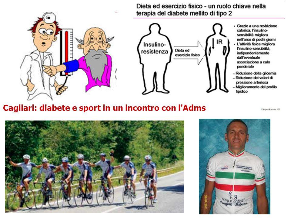 Cagliari: diabete e sport in un incontro con l'Adms