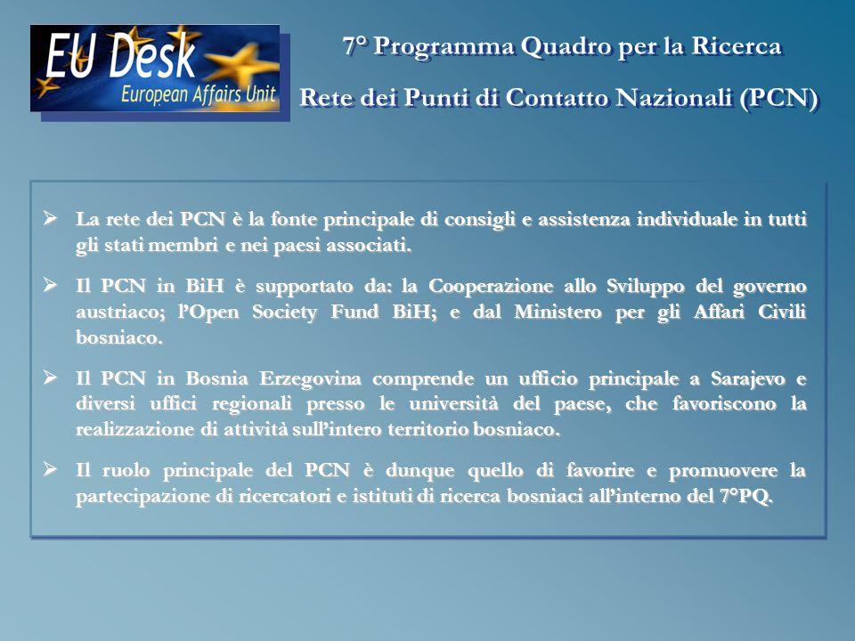 La rete dei PCN è la fonte principale di consigli e assistenza individuale in tutti gli stati membri e nei paesi associati.