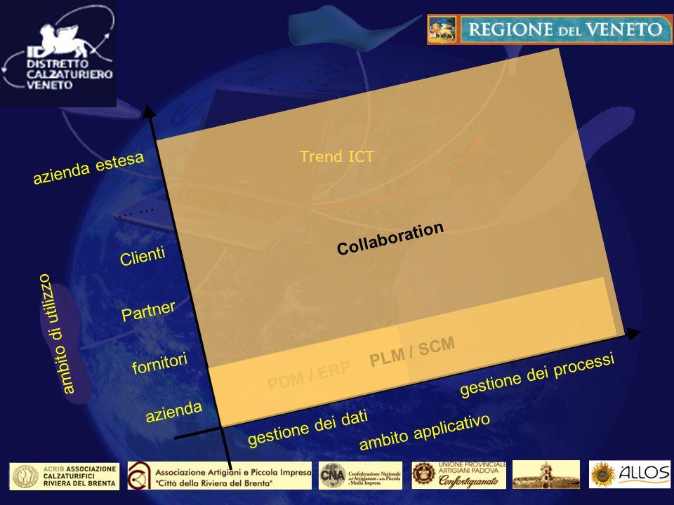 Gli ambienti di Collaboration: Le esigenze dellazienda estesa Mettere a fattor comune degli standard condivisi Definire delle regole e degli strumenti di lavoro Migliorare la comunicazione e la diffusione delle informazioni Assicurare la riservatezza e la protezione del Know How