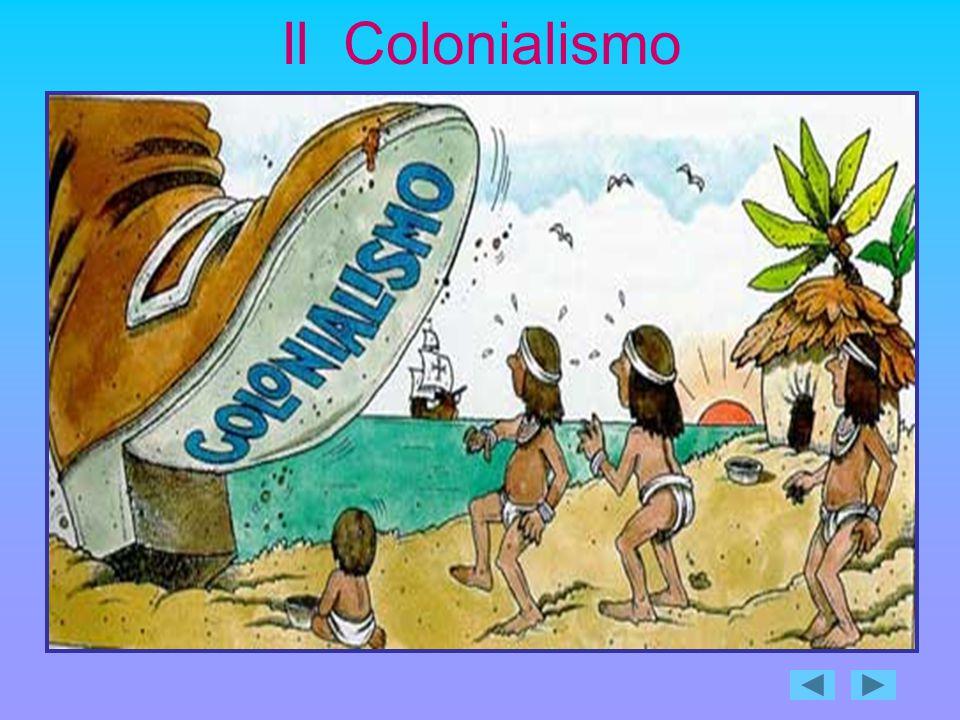 Il primo impero coloniale fu quello fondato dagli spagnoli in America nel XVI secolo.