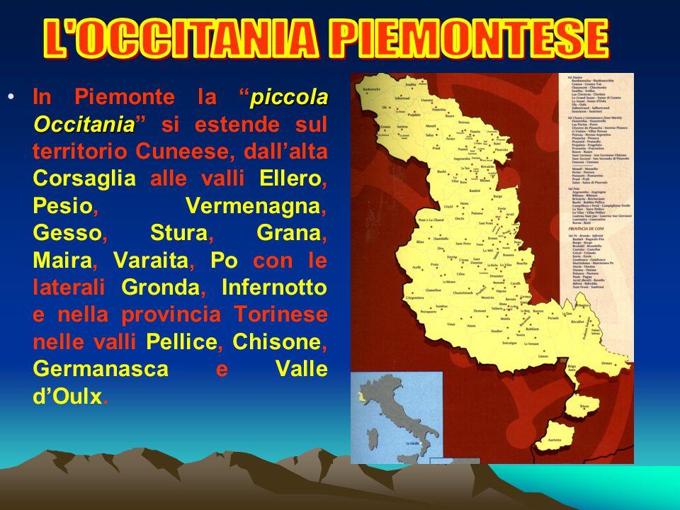 LOccitania non è uno stato né mai lo fu: è uno spazio culturale e linguistico che da oltre 1.000 anni ha come denominatore comune una lingua romanza c