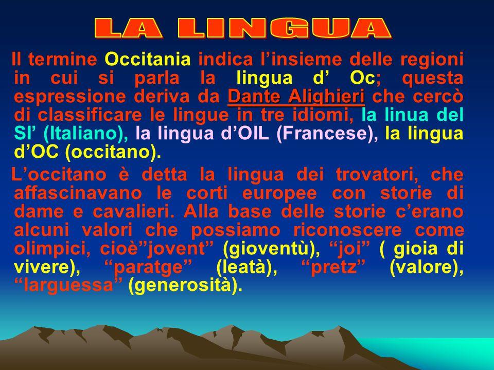 piccola OccitaniaIn Piemonte la piccola Occitania si estende sul territorio Cuneese, dallalta Corsaglia alle valli Ellero, Pesio, Vermenagna, Gesso, S