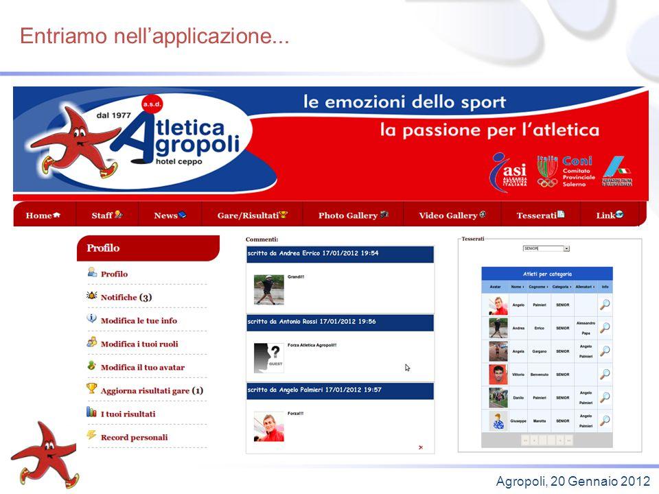 A cosa serve per lallenatore... Agropoli, 20 Gennaio 2012