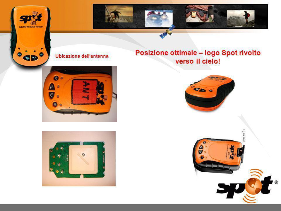 1.Controllare la carica delle batterie prima di usare lo SPOT.
