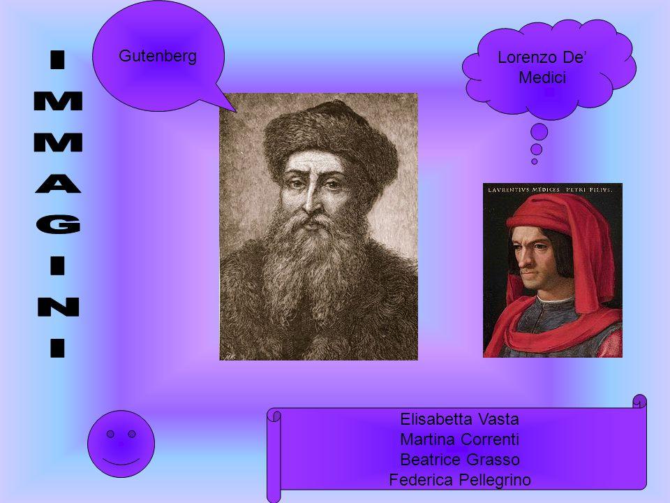 Lorenzo De Medici Gutenberg Elisabetta Vasta Martina Correnti Beatrice Grasso Federica Pellegrino
