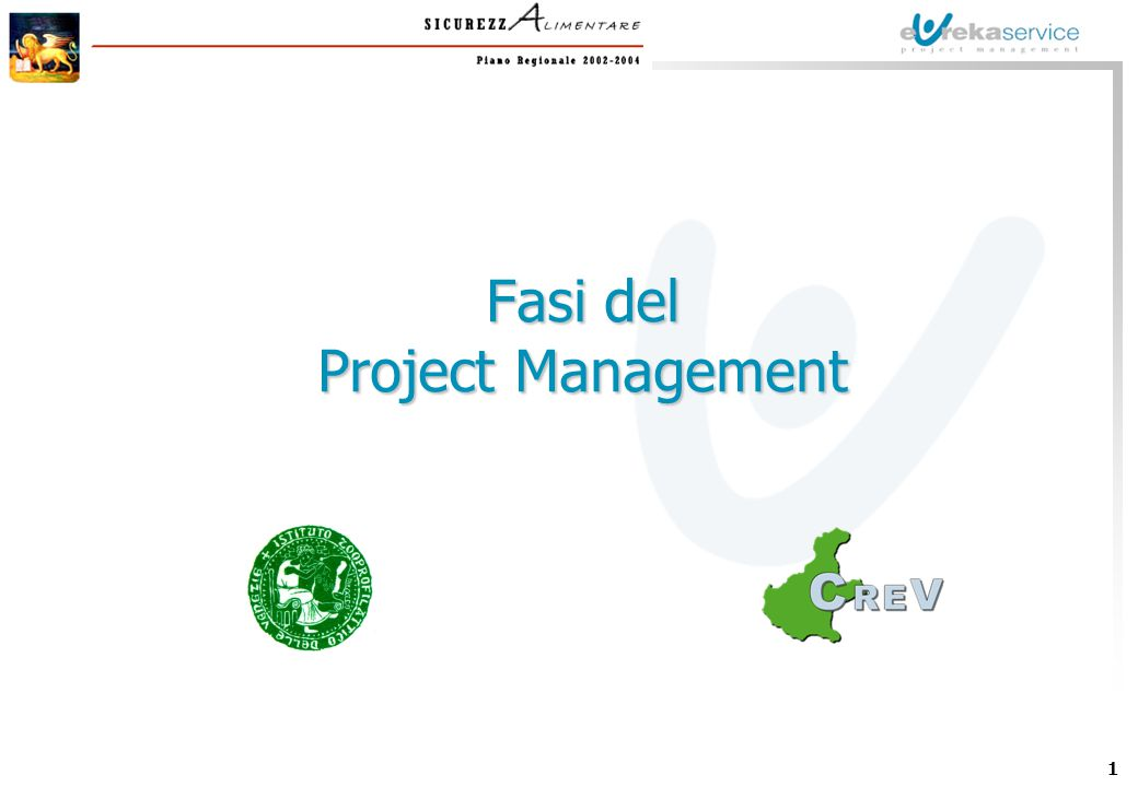 1 Fasi del Project Management