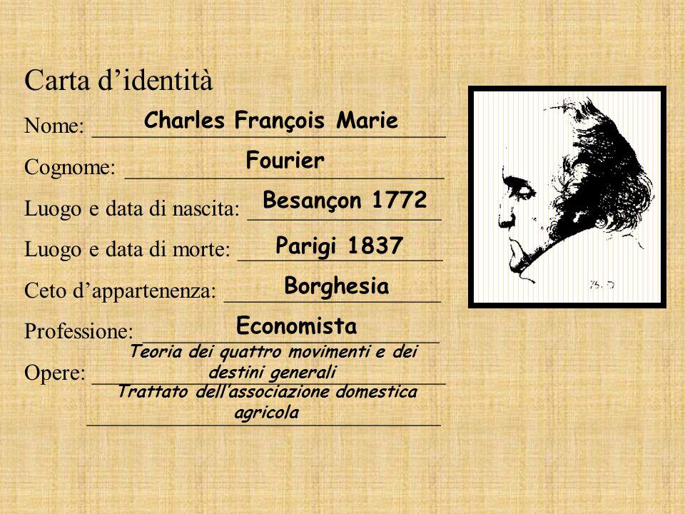Carta didentità Nome: _______________________________ Cognome: ____________________________ Luogo e data di nascita: _________________ Luogo e data di