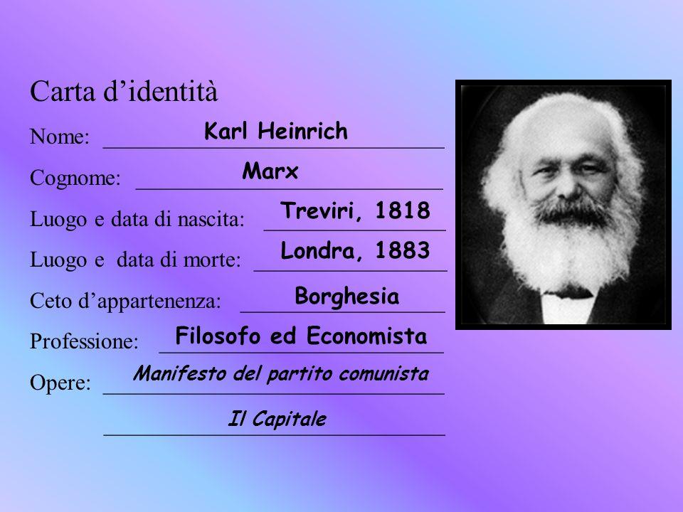 Carta didentità Nome: ______________________________ Cognome: ___________________________ Luogo e data di nascita: ________________ Luogo e data di mo