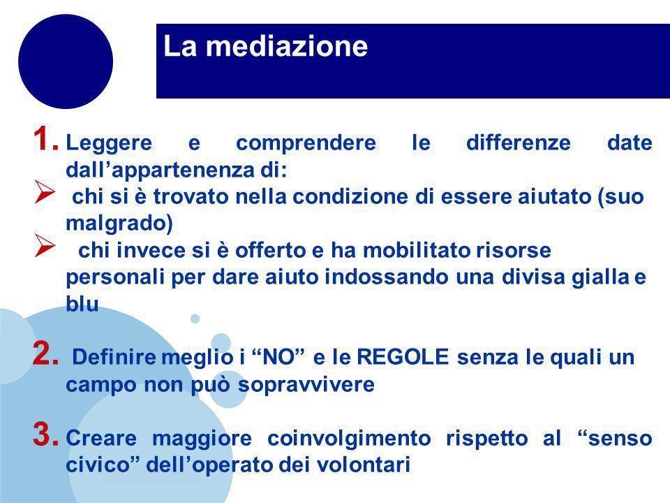 www.company.com La mediazione 1.