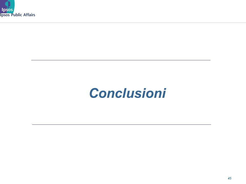 45 Conclusioni