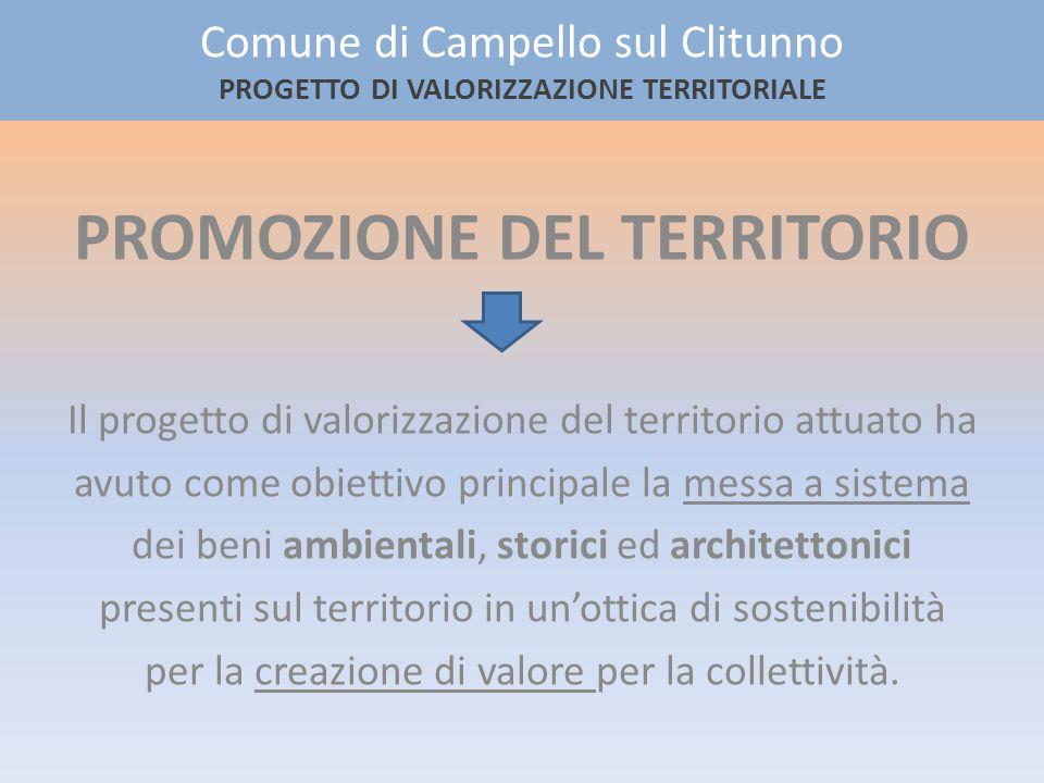 Gli elementi dellecomuseo SIC Valle di Pettino IT5210050 SIC Fiume e Fonti del Clitunno IT5210053 SIC Fosso di Camposolo IT5210057