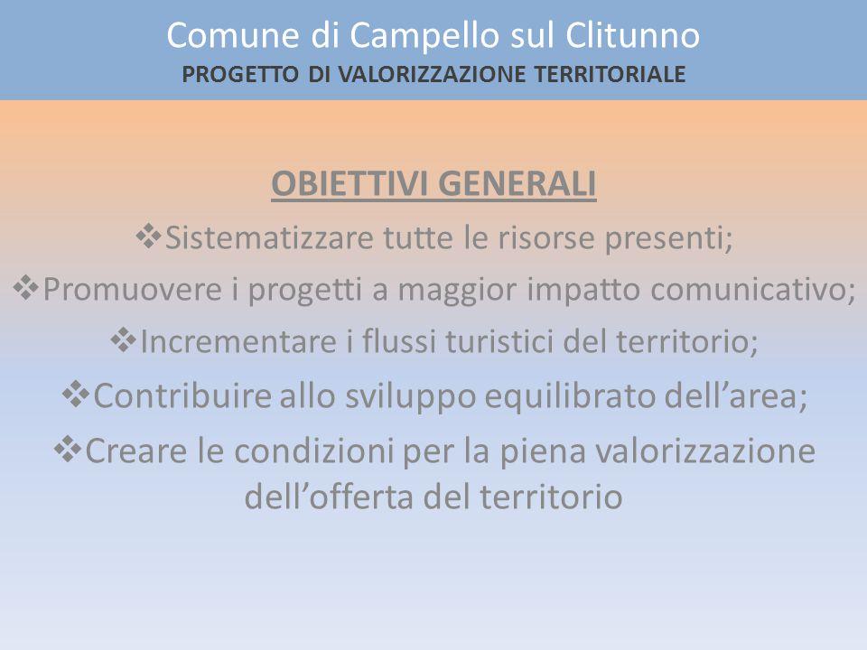Castelliere M.te Serano Tempietto del Clitunno Castelliere La Spina Grotta di Pian delle Rotte Gli elementi dellecomuseo