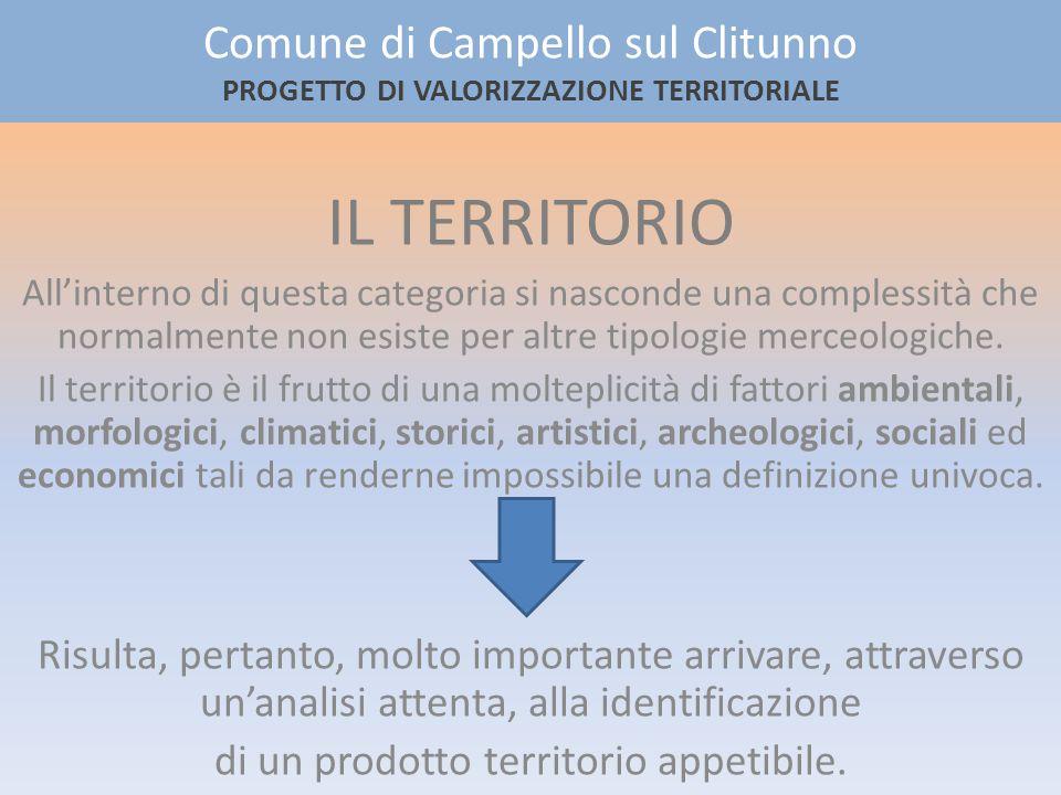 Comune di Campello sul Clitunno PROGETTO DI VALORIZZAZIONE TERRITORIALE IL SITO SERIALE I Longobardi in Italia.