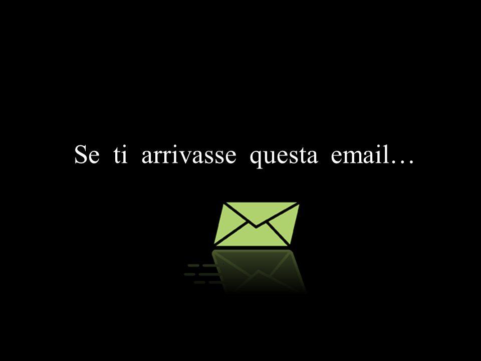 Stiamo aggiornando il nostro sistema di e-mail per permetterci di ridurre l insorgenza di Spam.