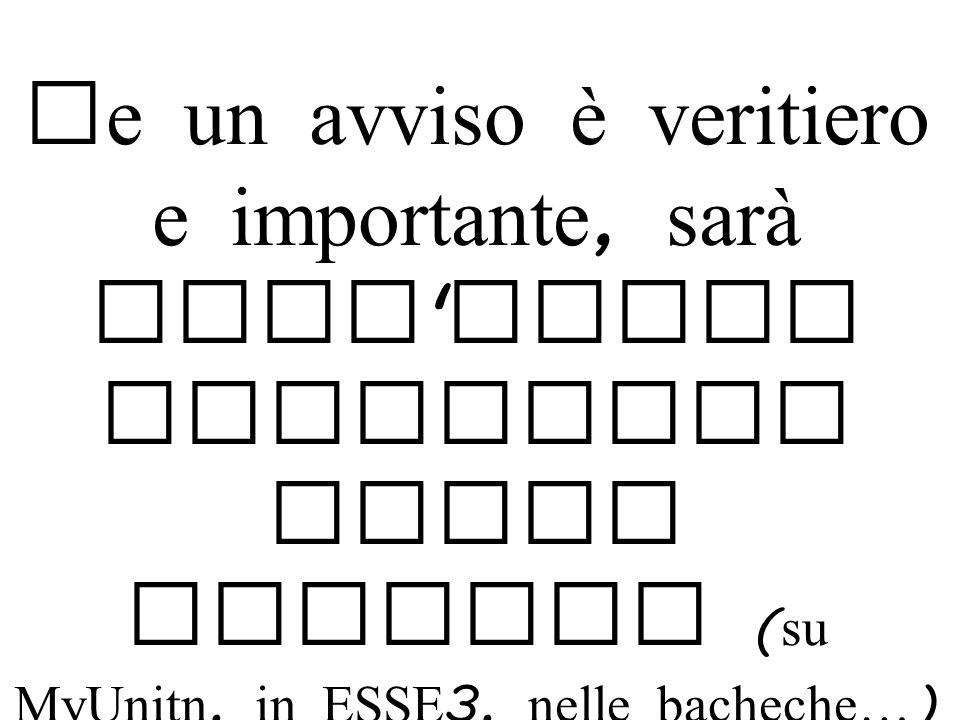 Le vere pagine di autenticaz ione di Unitn sono protette da una connession e sicura ( https )
