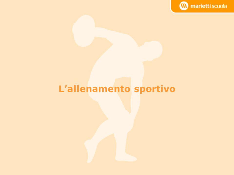 Lallenamento sportivo